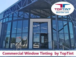 Commercial Window tinting by TopTint