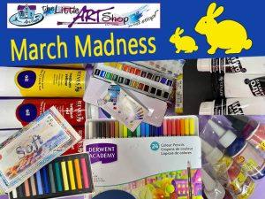 March Madness Sale at Art Shop in George