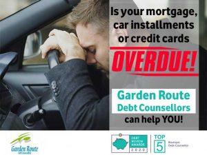 Overdue Accounts Garden-Route Debt Counsellors can help