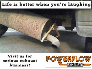 PowerFlow George Serious exhaust business