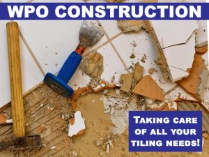 WPO Construction Taking-care of tiling