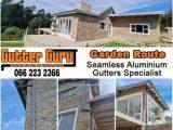 Garden Route Seamless Aluminium Gutter Specialist