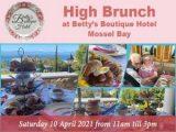 High Brunch Bettys Boutique Hotel Mossel Bay 10 April 2021