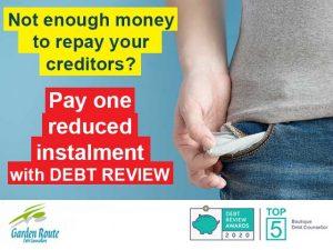 Pay one reduced instalmen