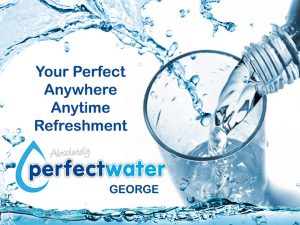 Perfect Water anywhere anytime refreshment