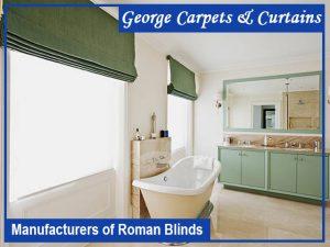 Roman Blinds George Carpets