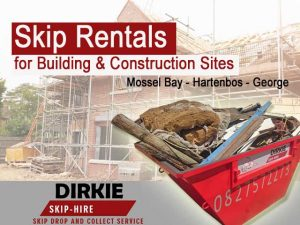 Skip rentals for building sites