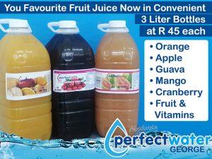 Perfect Water 3 liter Juice