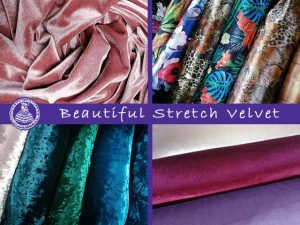 Stretch Velvet Fabric World George