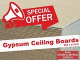 Gypsum Ceiling Boards Special George