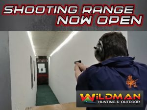 Wildman George Shooting Range now open