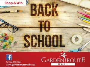 Back to School Shop and Win at the Garden Route Mall