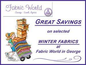 Great Savings on Winter Fabrics in George