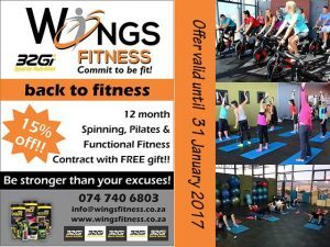 15% Discount on 12 month Gymnasium Contract in Mossel Bay