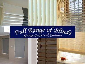 Full Range of Blinds in George