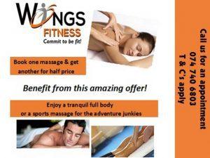 Massage Special Offer in Mossel Bay
