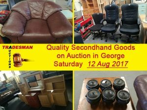 Quality Secondhand Goods on Auction in George