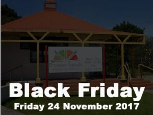 Frozen Foods Factory Shop in George Black Friday Promotion