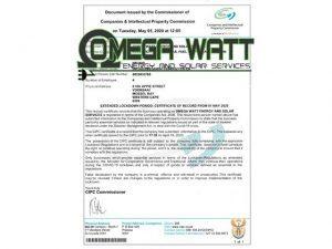 Omega Watt Energy & Solar Services Operational During Lockdown