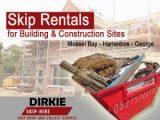 Skip rentals for building sites