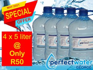 Special on Bottled Water in George