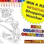 Lalakoi Wildman Colouring Competition